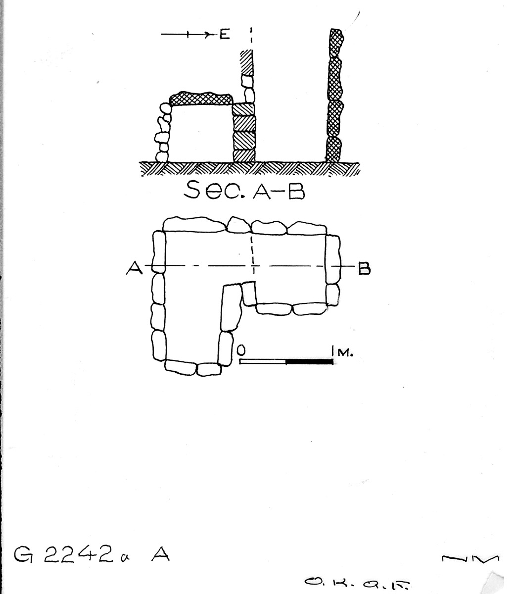 Maps and plans: G 2242a, Shaft A