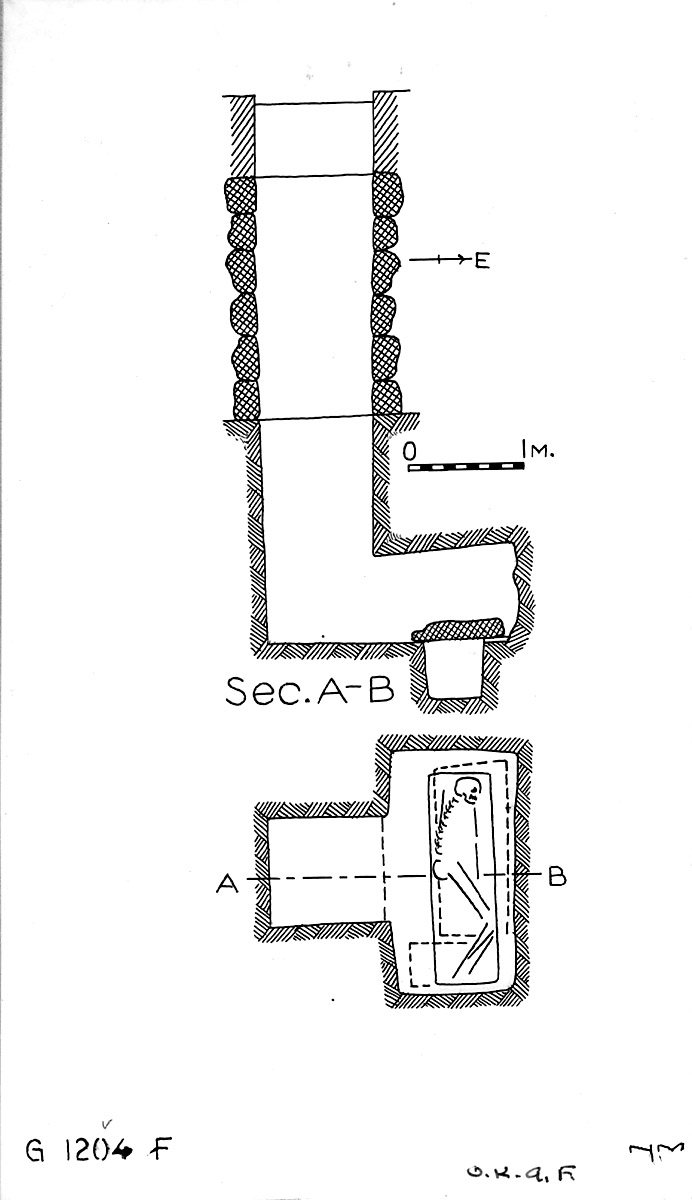 Maps and plans: G 1204, Shaft F