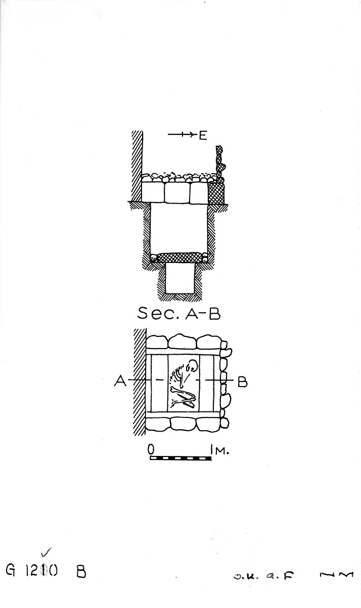 Maps and plans: G 1210, Shaft B