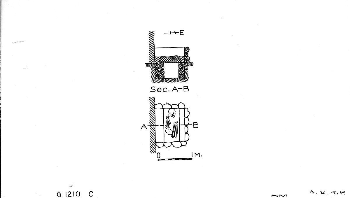 Maps and plans: G 1210, Shaft C