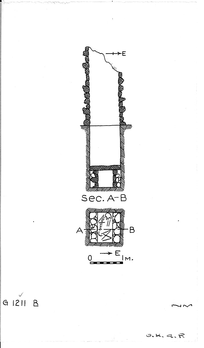 Maps and plans: G 1211, Shaft B