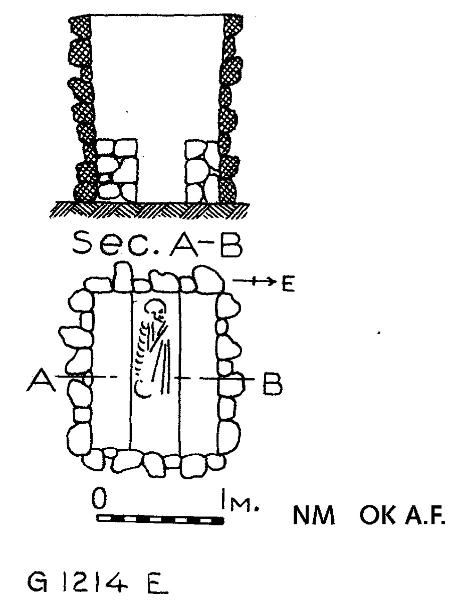 Maps and plans: G 1214, Shaft E