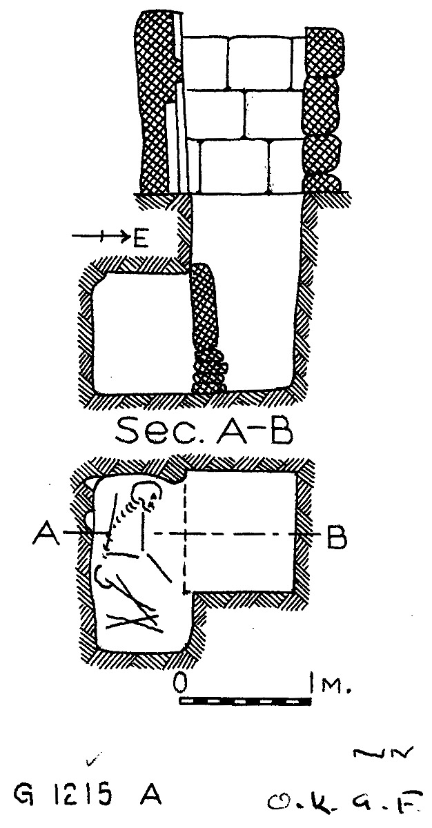 Maps and plans: G 1215, Shaft A