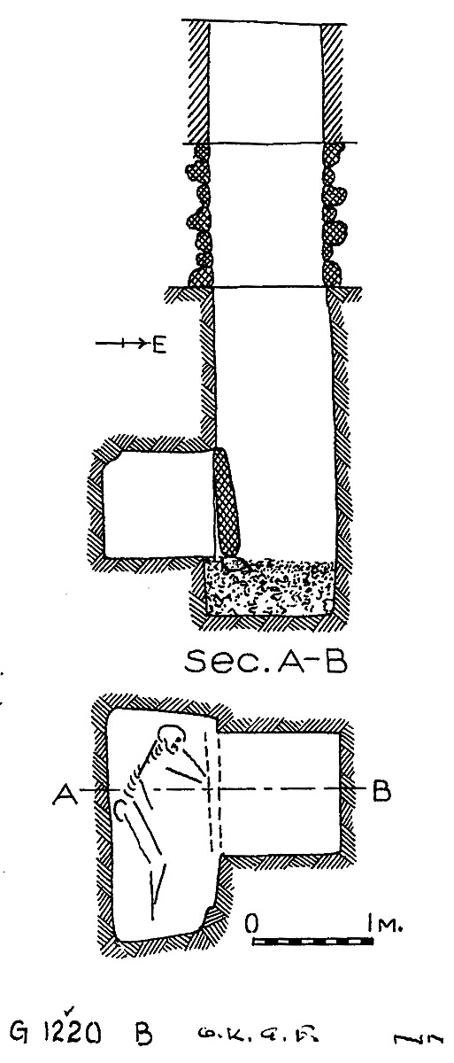 Maps and plans: G 1220, Shaft B