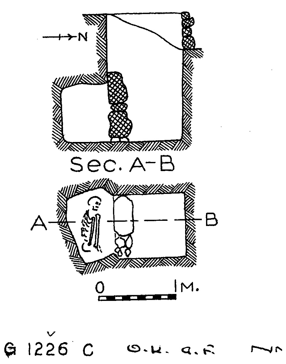 Maps and plans: G 1226, Shaft C