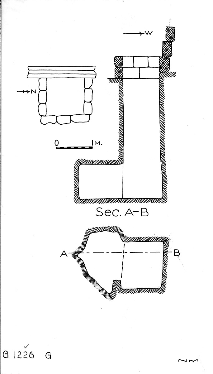 Maps and plans: G 1226, Shaft G