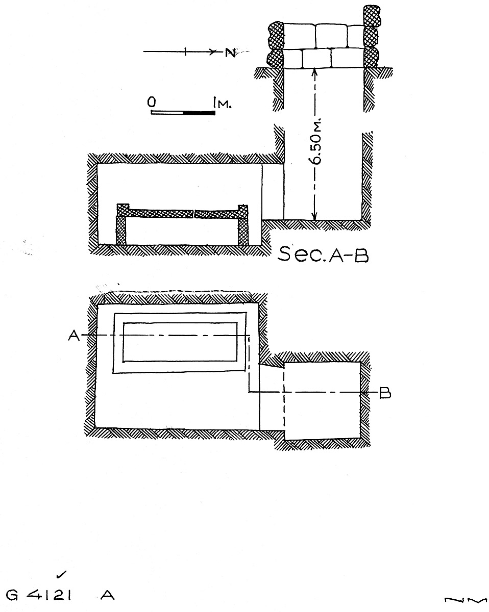 Maps and plans: G 4121, Shaft A