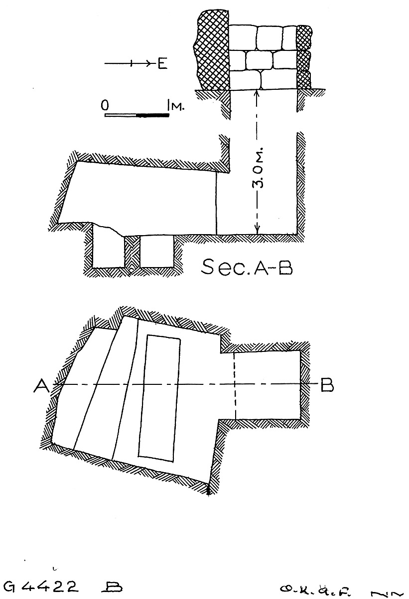 Maps and plans: G 4422, Shaft B