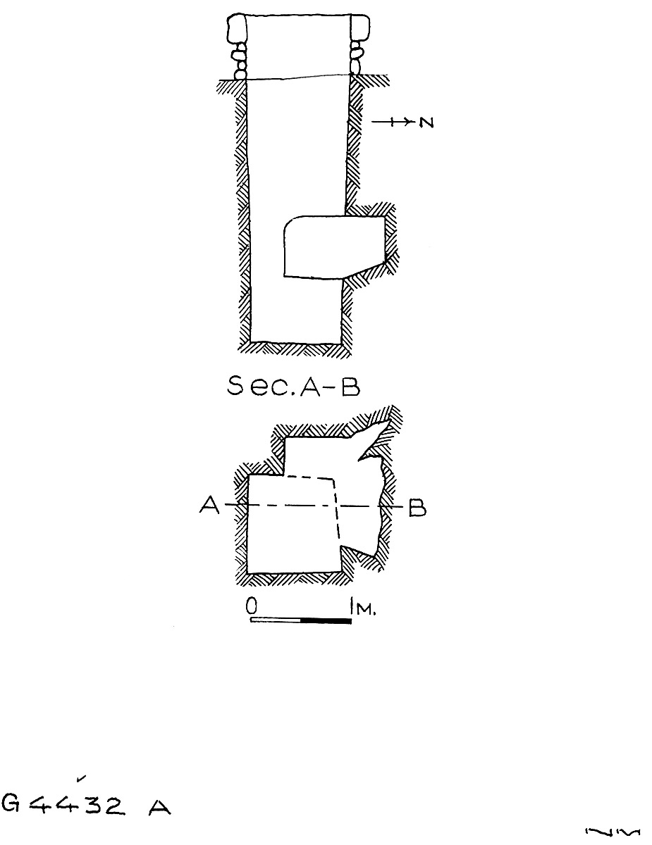 Maps and plans: G 4432, Shaft A