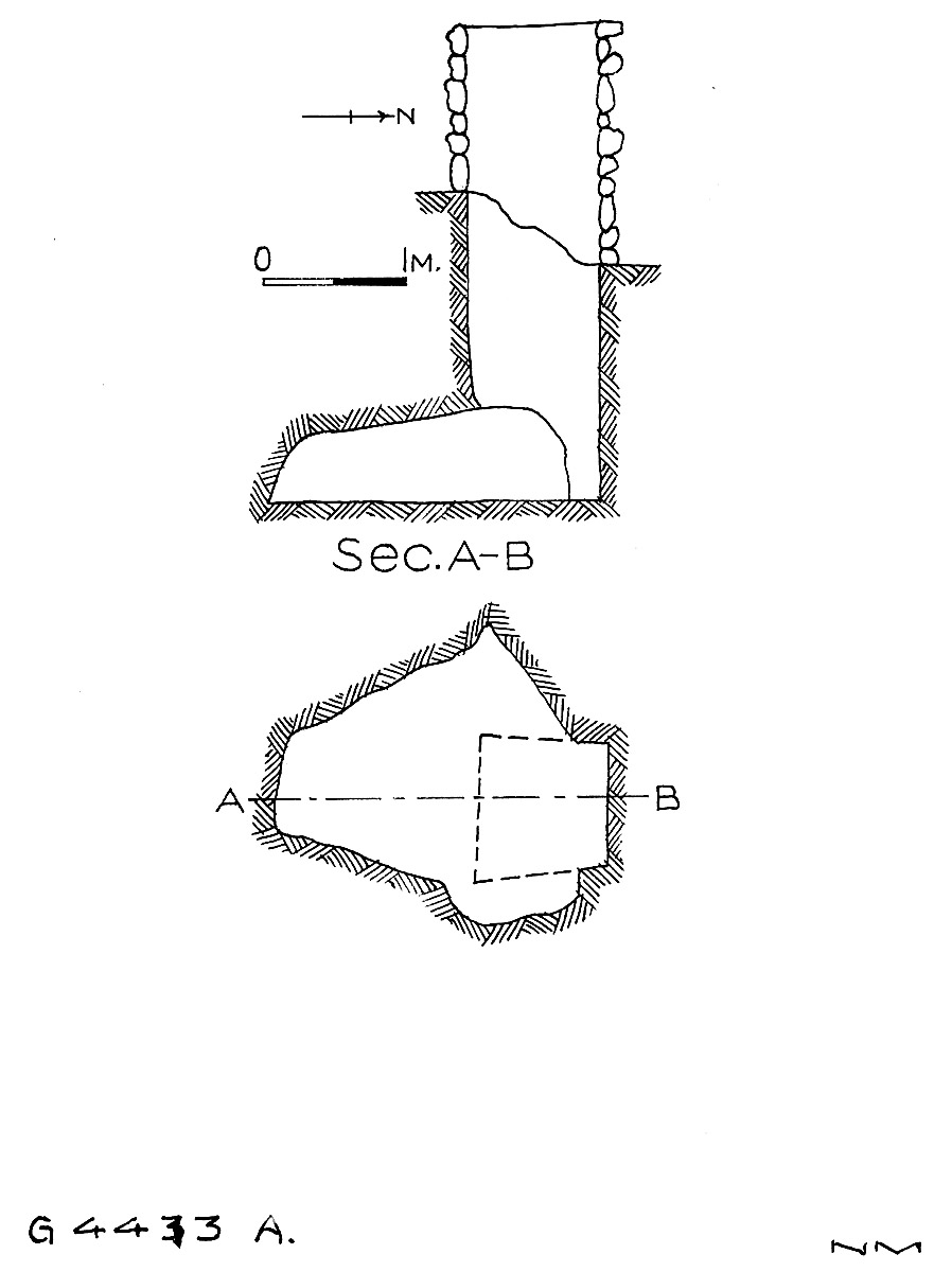 Maps and plans: G 4433, Shaft A