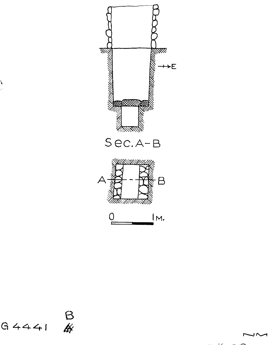 Maps and plans: G 4441, Shaft B