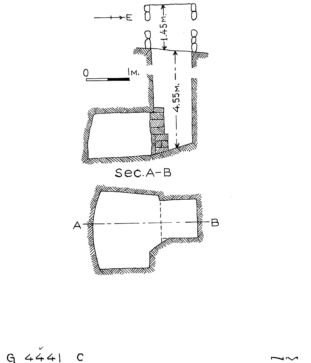 Maps and plans: G 4441, Shaft C
