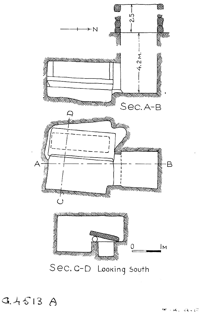 Maps and plans: G 4513, Shaft A