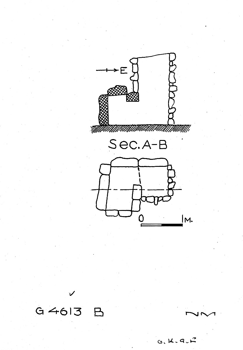 Maps and plans: G 4613, Shaft B