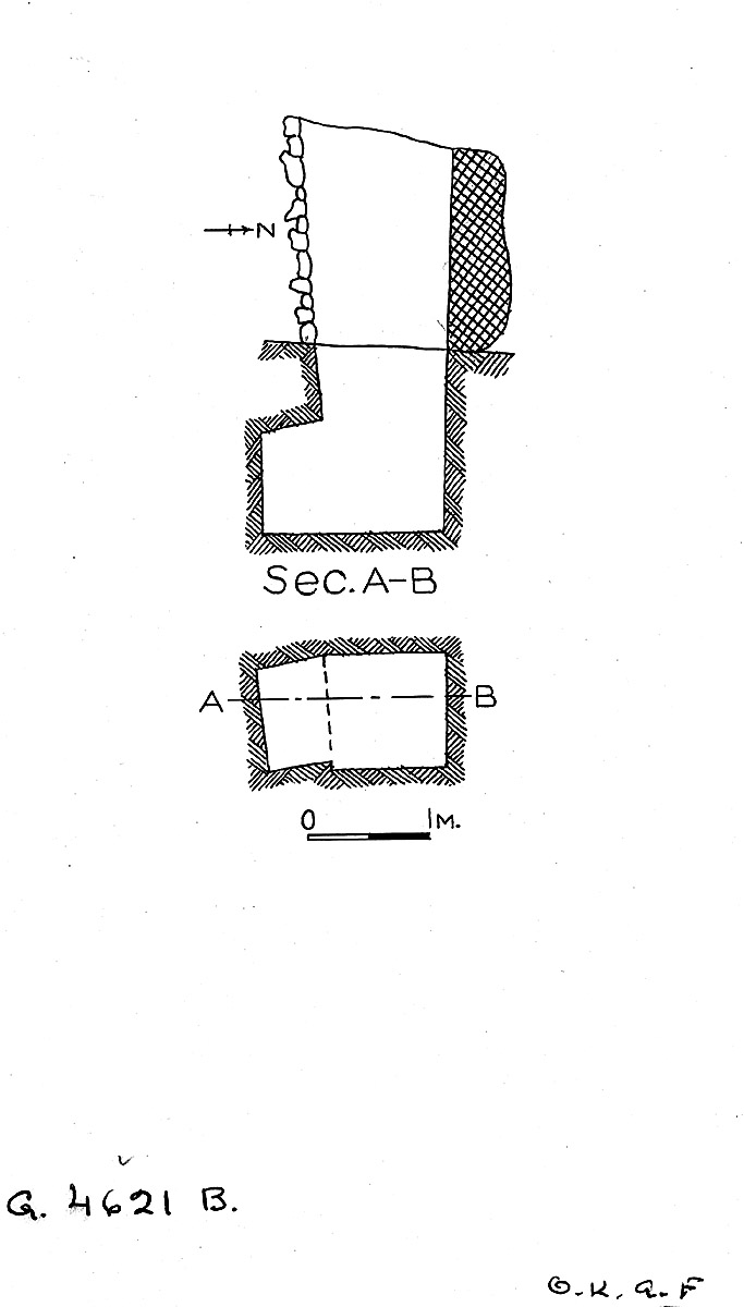 Maps and plans: G 4621, Shaft B