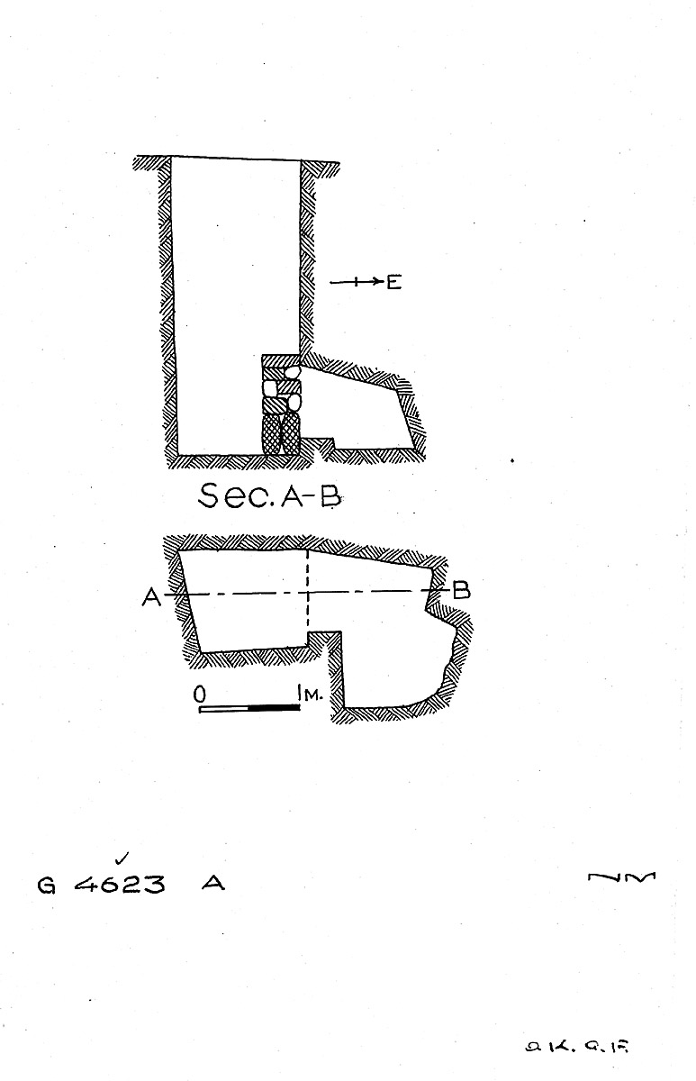 Maps and plans: G 4623, Shaft A
