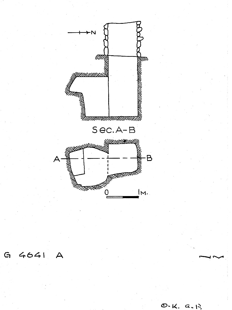 Maps and plans: G 4641, Shaft A