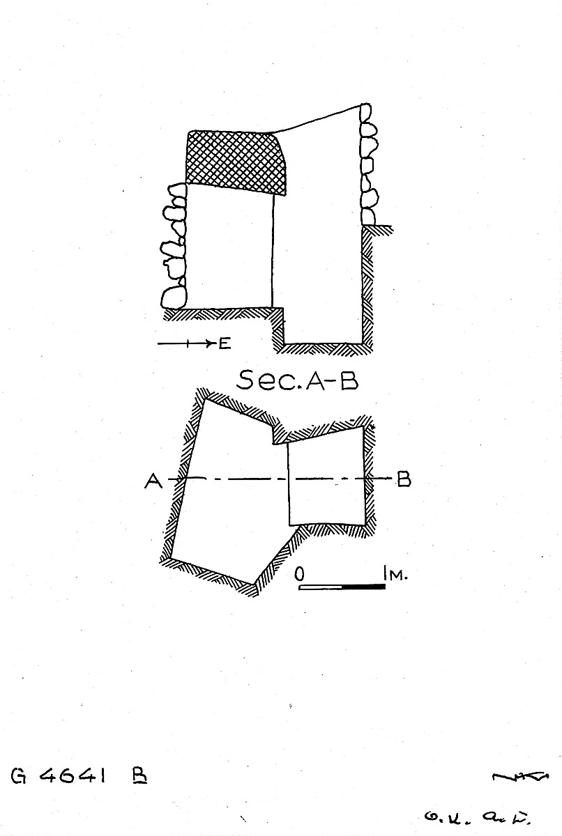 Maps and plans: G 4641, Shaft B