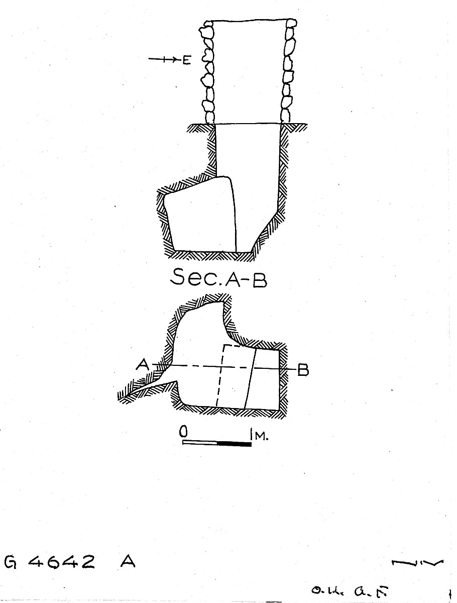 Maps and plans: G 4642, Shaft A