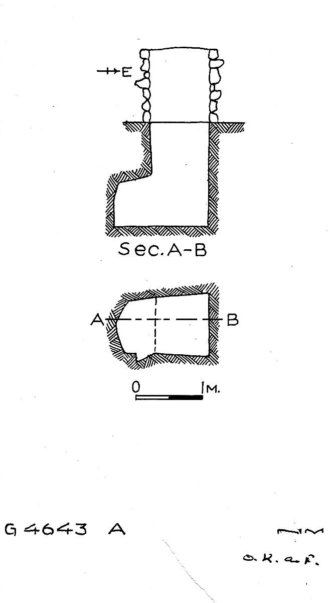 Maps and plans: G 4643, Shaft A