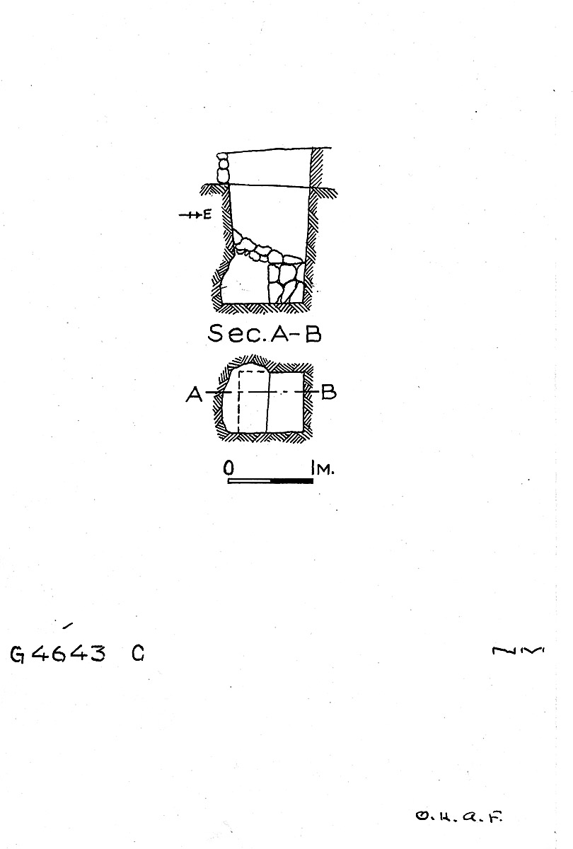Maps and plans: G 4643, Shaft C