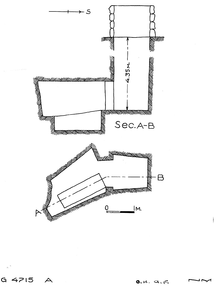Maps and plans: G 4715, Shaft A