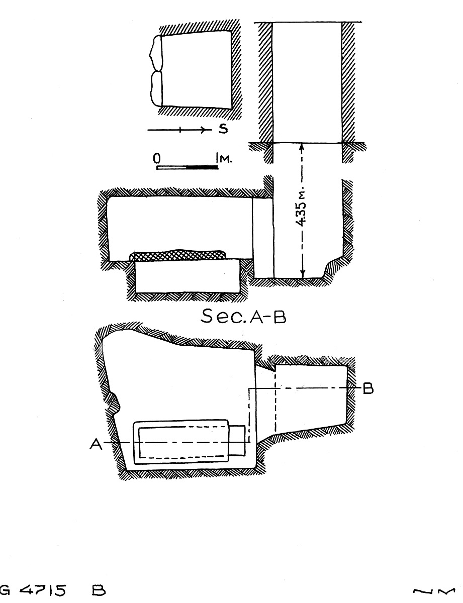 Maps and plans: G 4715, Shaft B