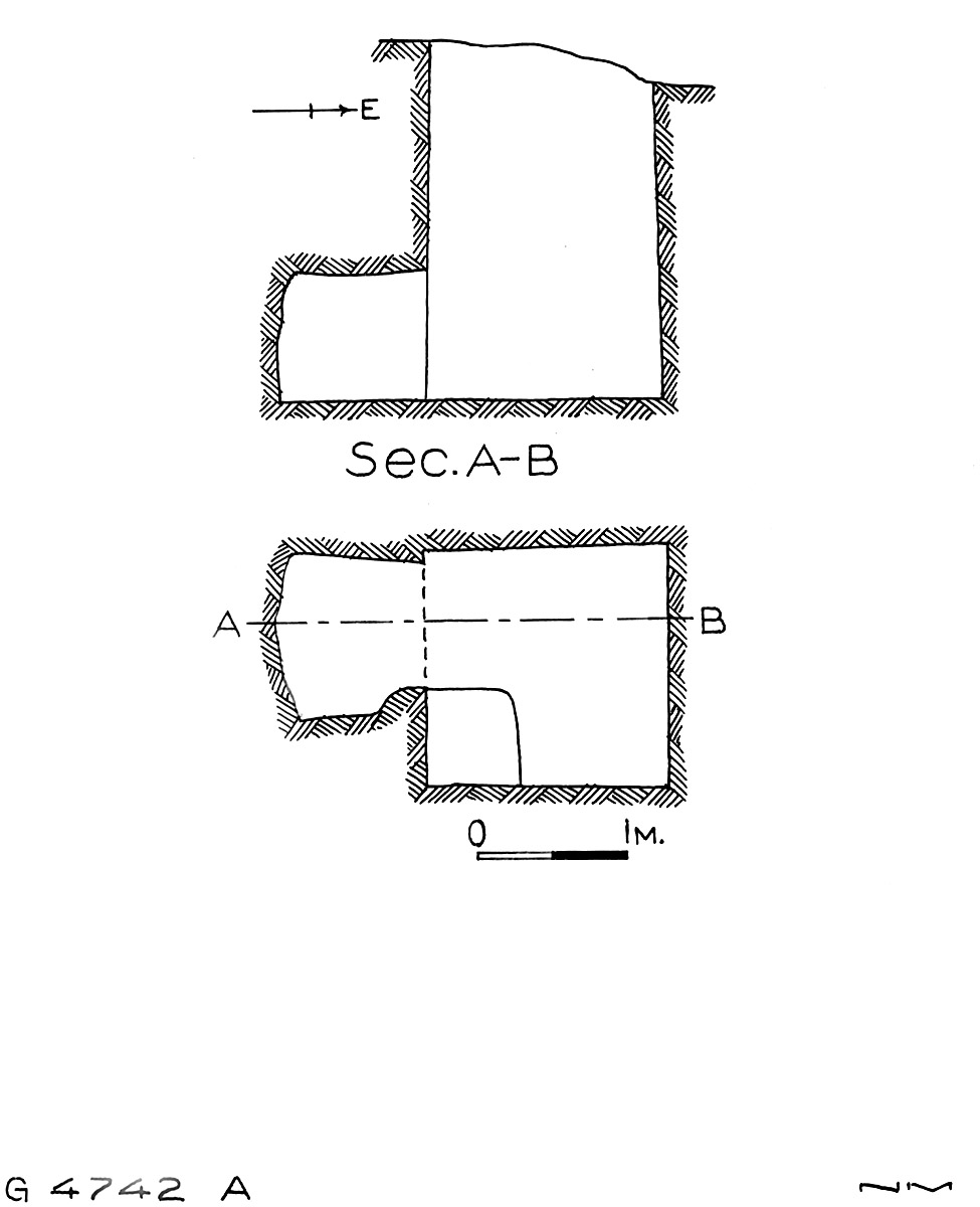Maps and plans: G 4742, Shaft A