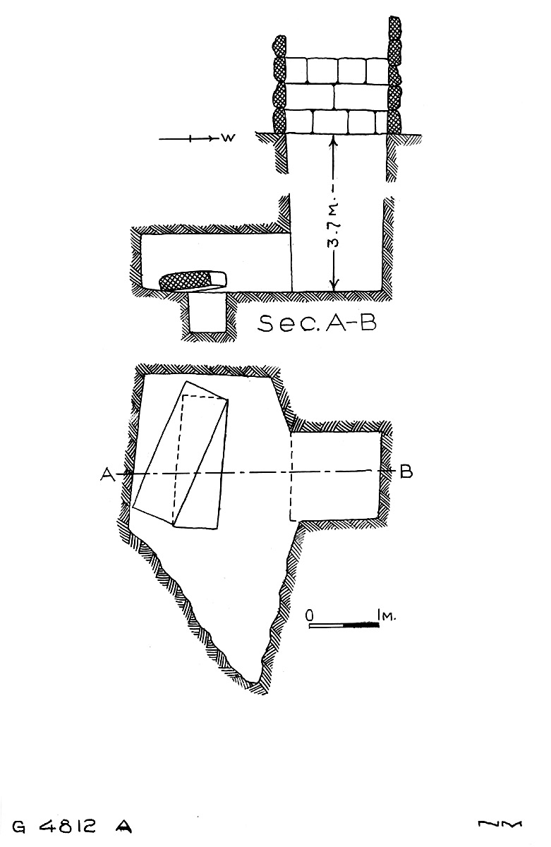 Maps and plans: G 4811+4812: G 4812, Shaft A