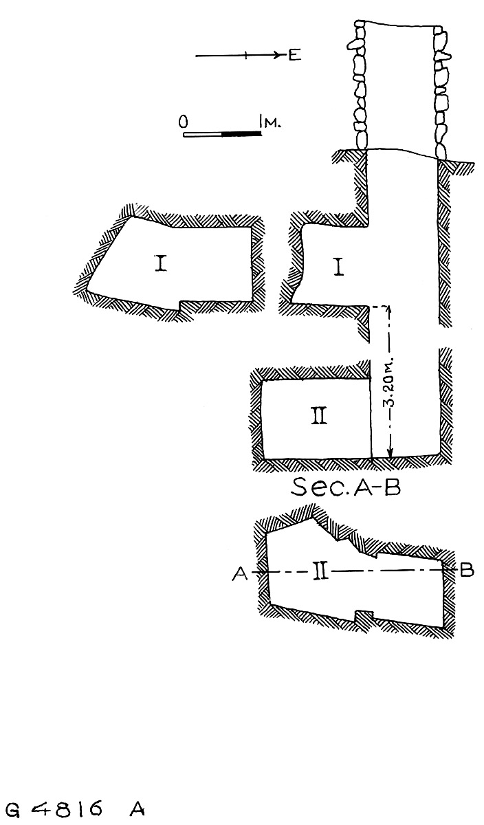 Maps and plans: G 4816, Shaft A