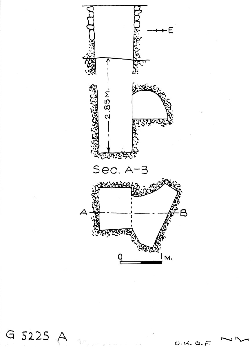 Maps and plans: G 5225, Shaft A
