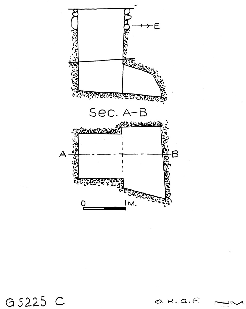 Maps and plans: G 5225, Shaft C