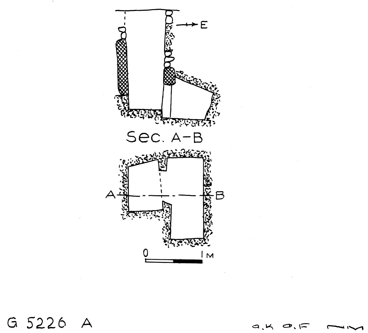 Maps and plans: G 5226, Shaft A