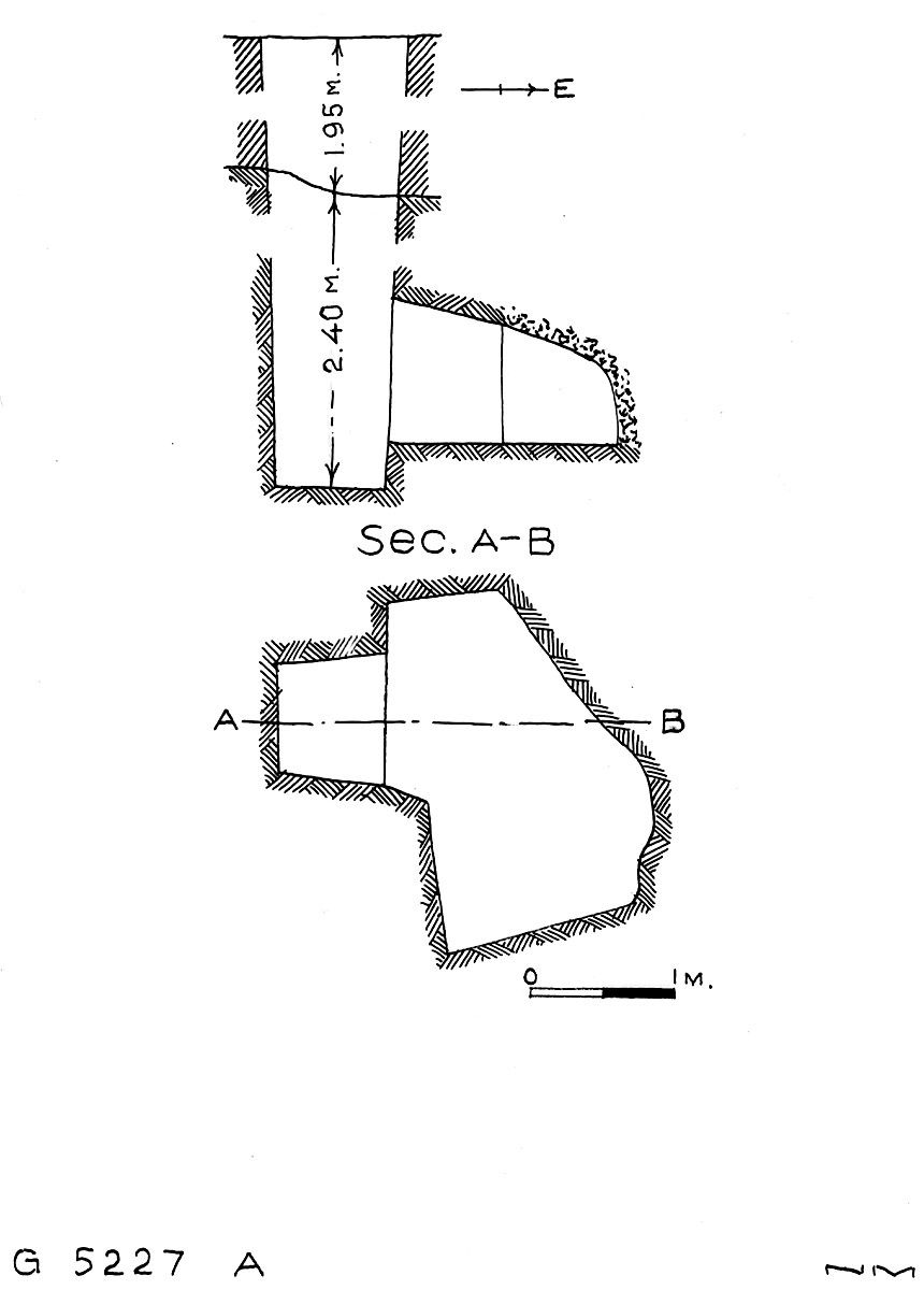 Maps and plans: G 5227, Shaft B