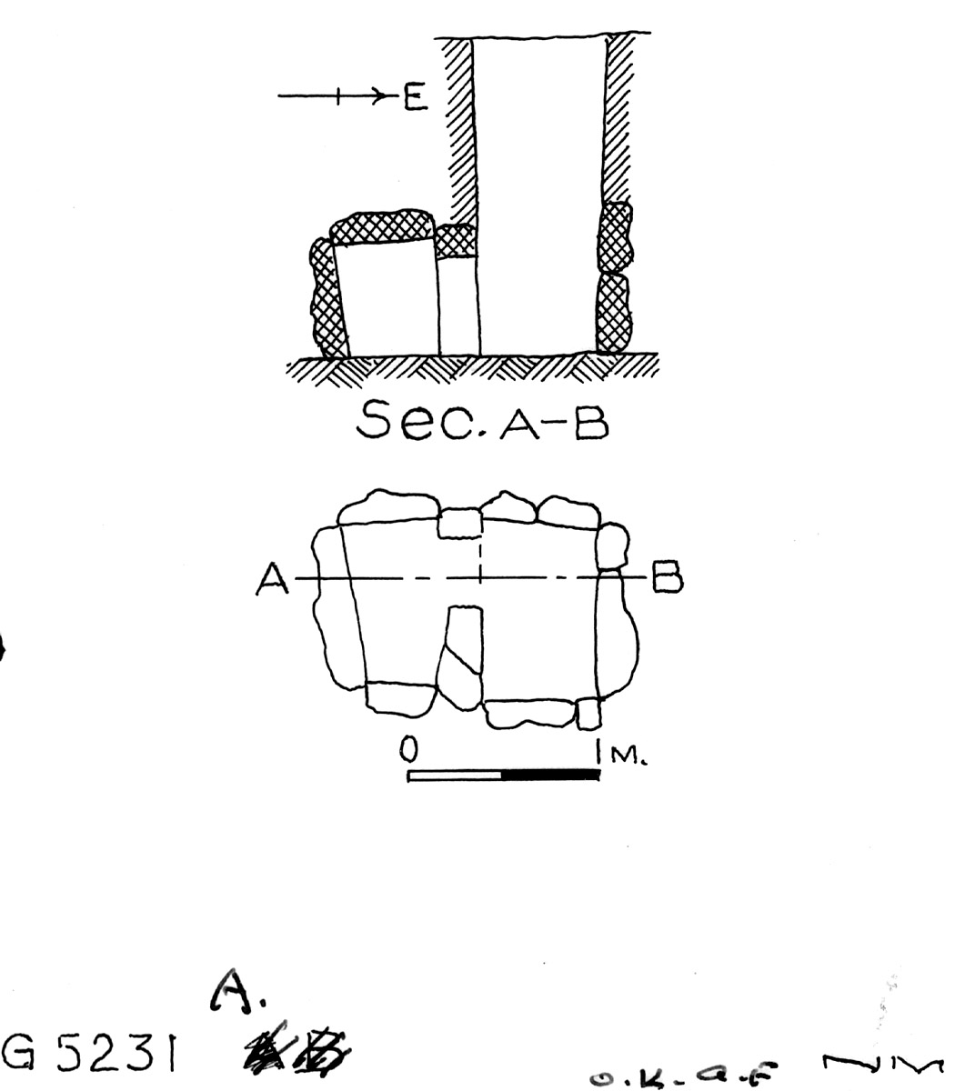 Maps and plans: G 5231, Shaft A