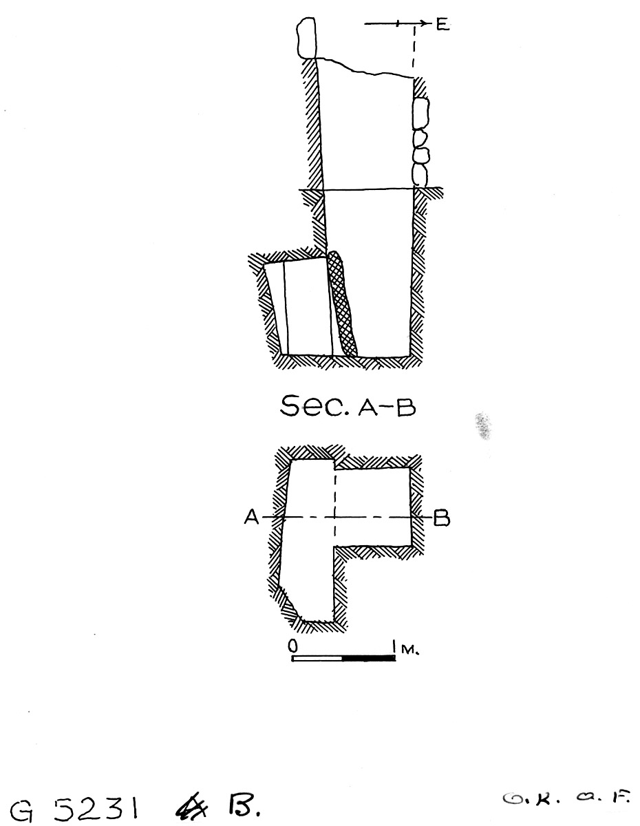 Maps and plans: G 5231, Shaft B