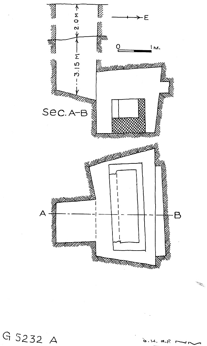 Maps and plans: G 5232, Shaft A