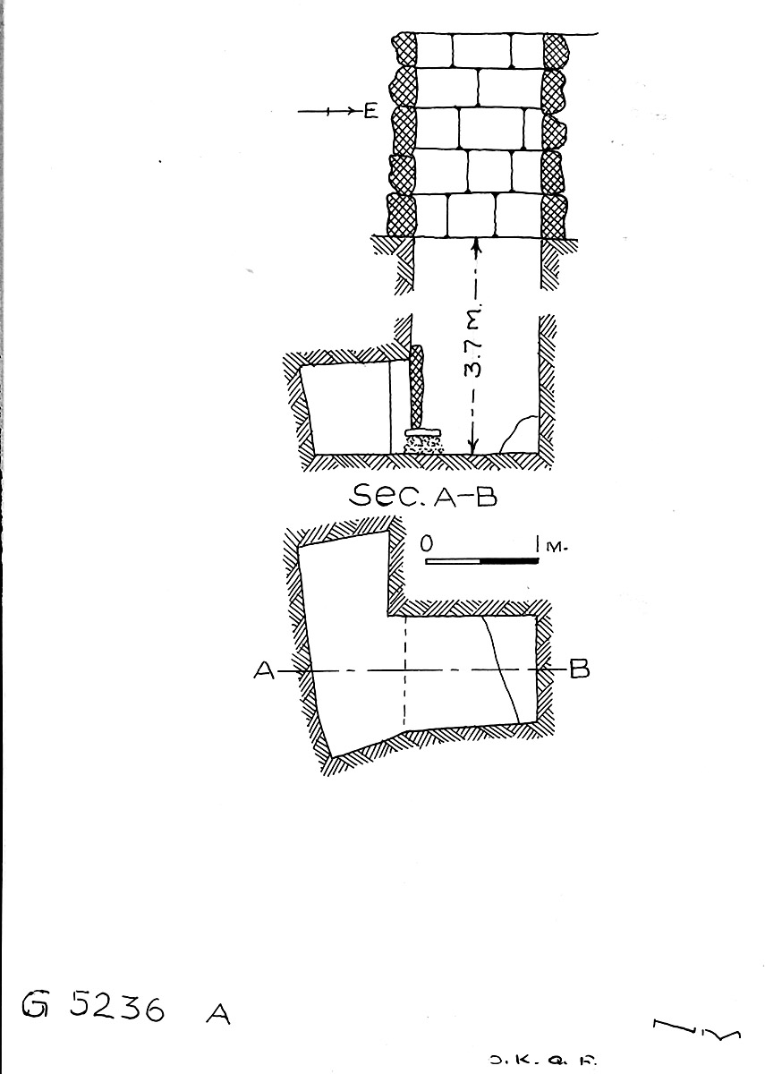 Maps and plans: G 5236, Shaft A