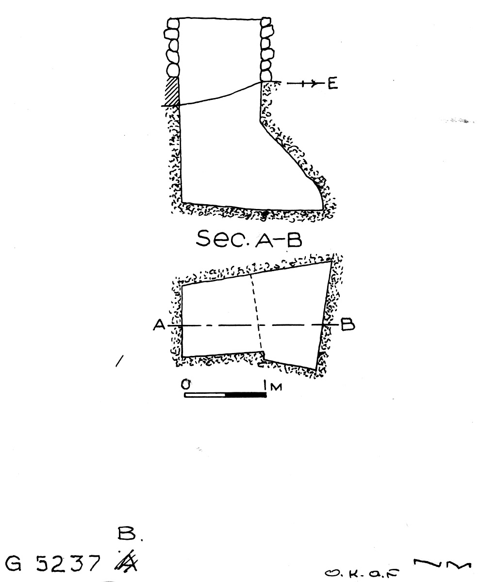 Maps and plans: G 5237, Shaft B