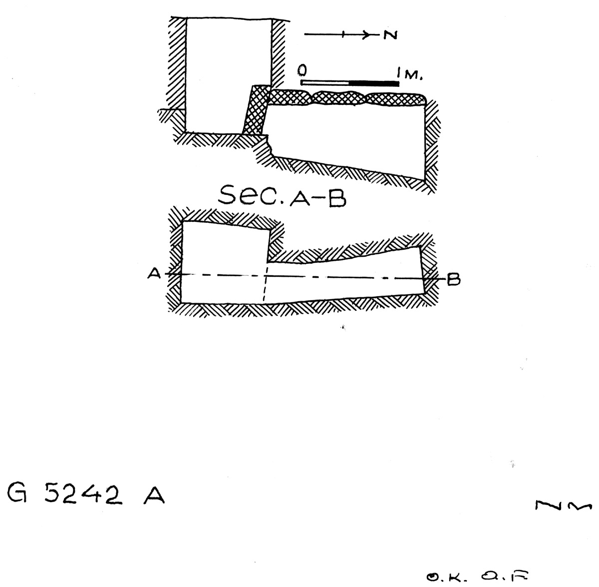 Maps and plans: G 5242, Shaft A