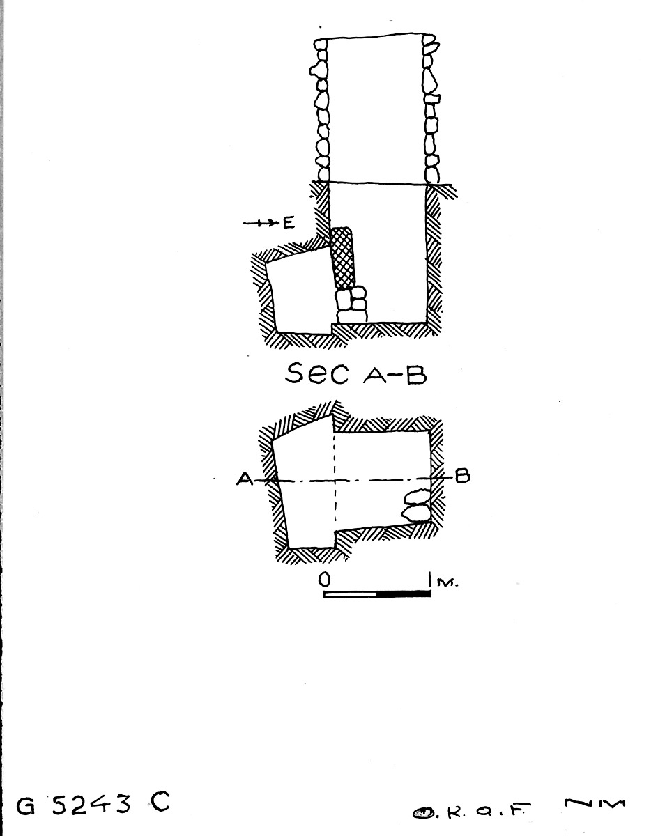 Maps and plans: G 5243, Shaft C