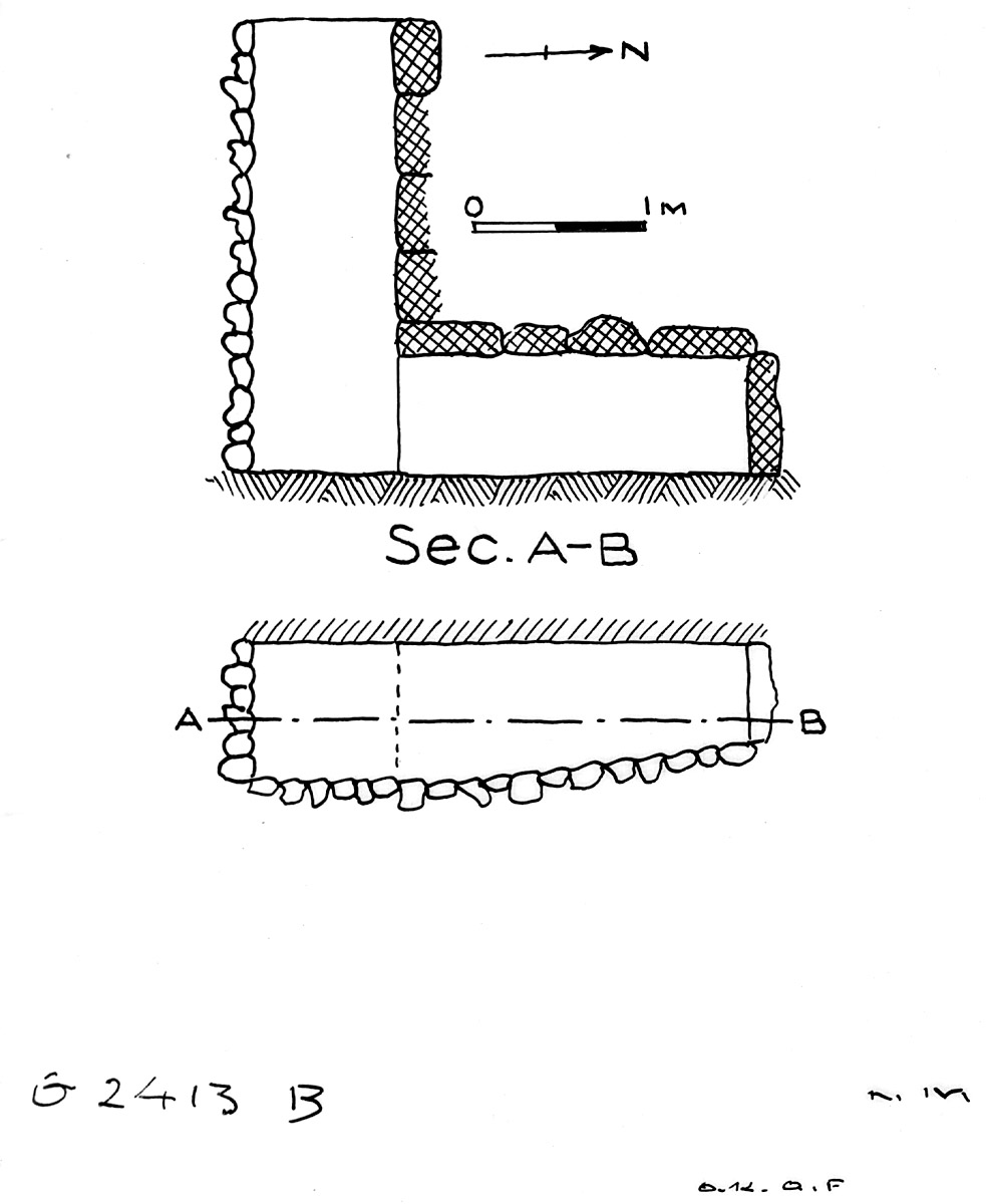 Maps and plans: G 2413, Shaft B