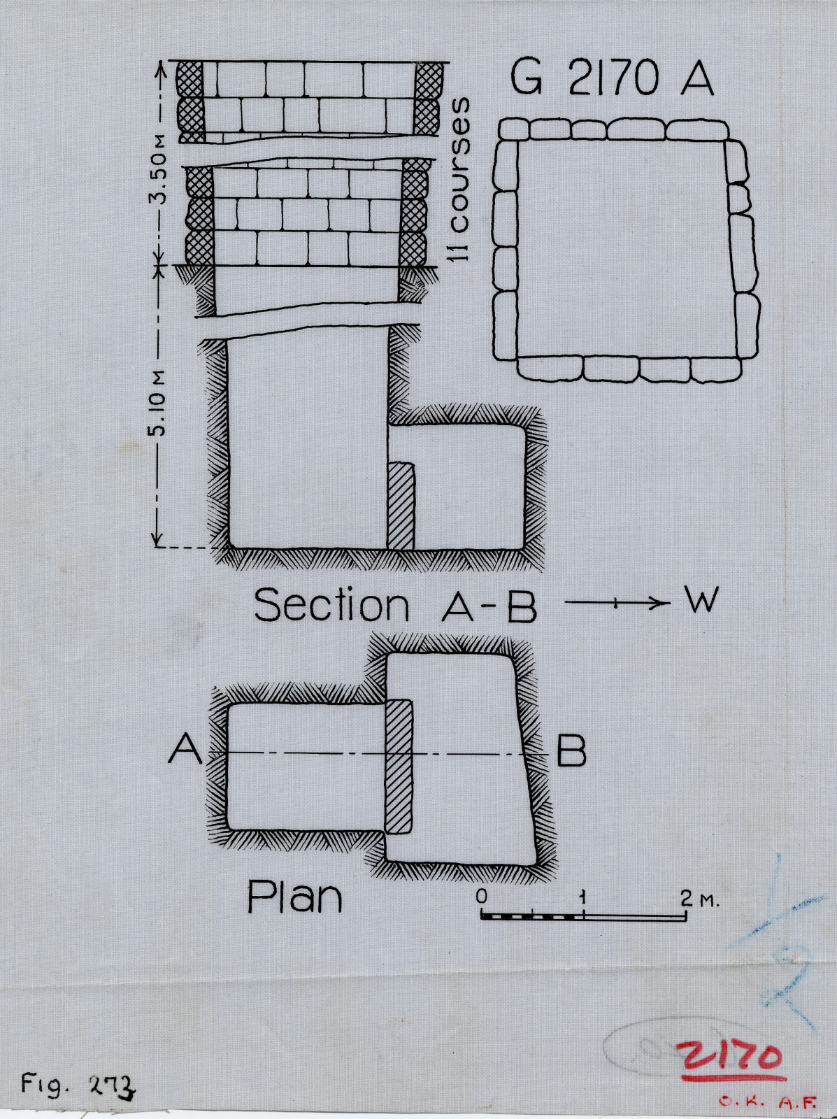 Maps and plans: G 2170, Shaft A