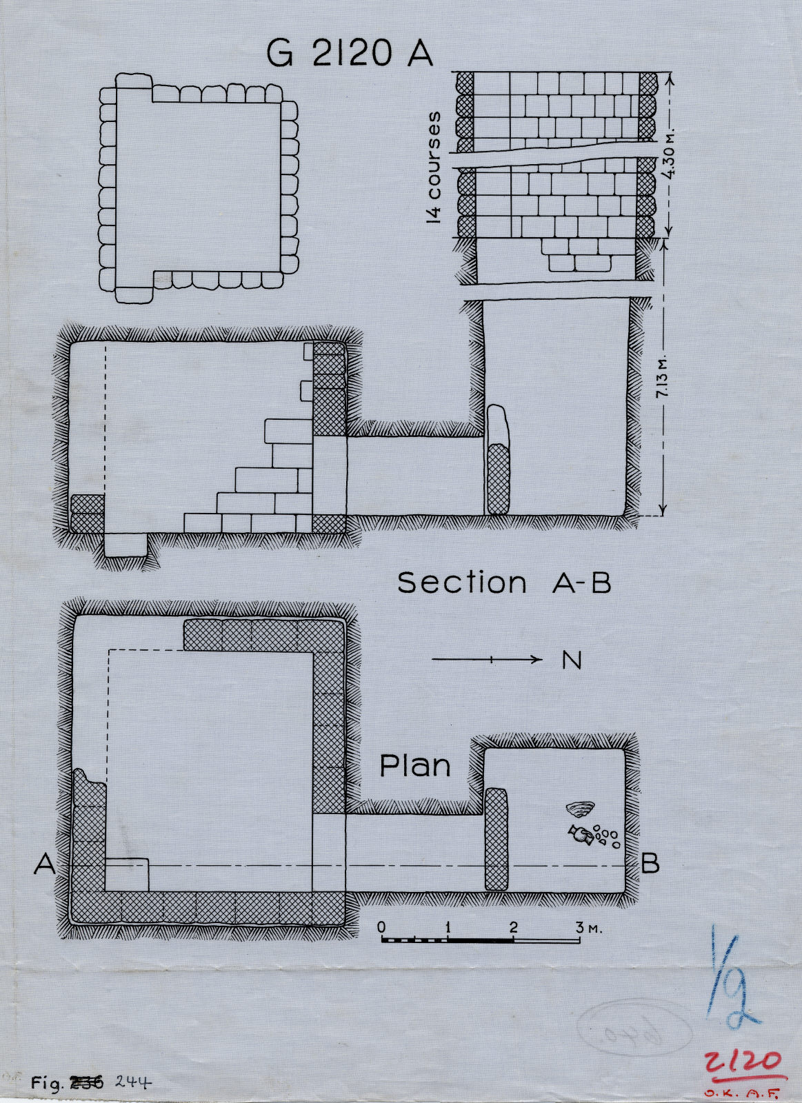 Maps and plans: G 2120 Shaft A