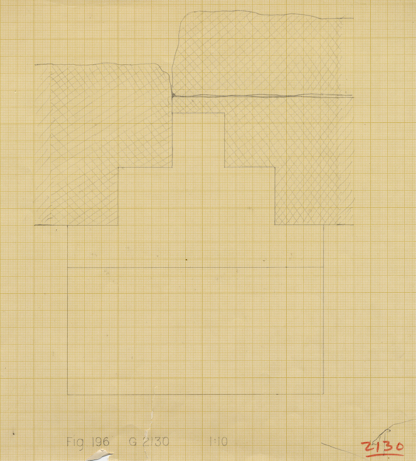 Maps and plans: G 2130, Plan of niche