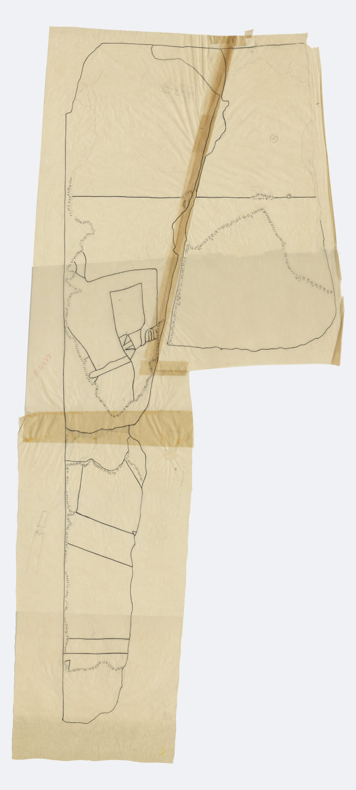 Drawings: G 5110: relief fragment 15