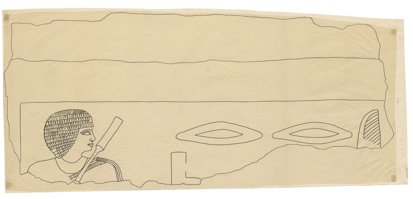 Drawings: G 5110: relief