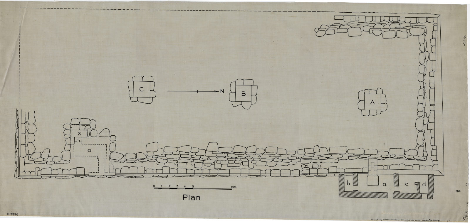 Maps and plans: G 7350, Plan
