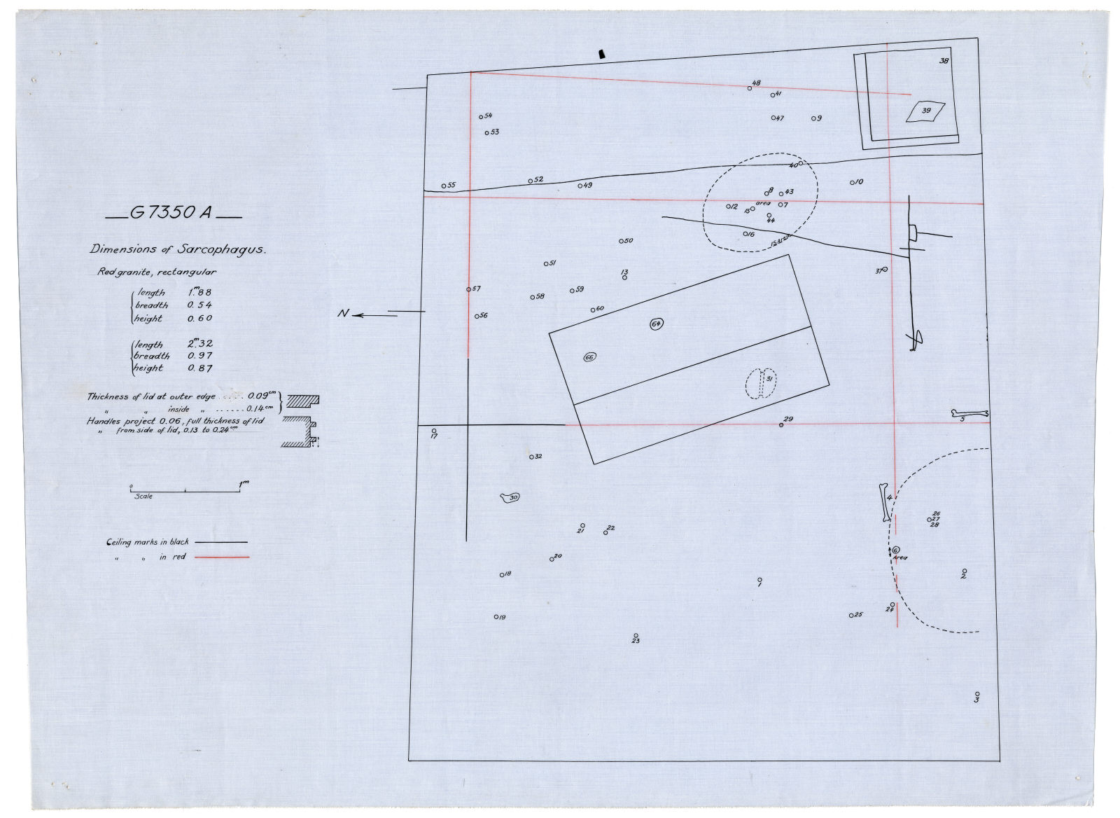 Maps and plans: G 7350, Shaft A