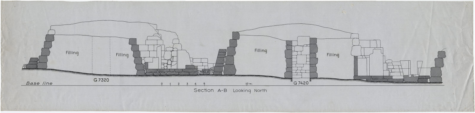 Maps and plans: Section of G 7320 and G 7420